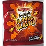 Pepperidge Farm Goldfish Flavor Blasted Xtreme Hot N Spicy Cheddar Case Pack 300