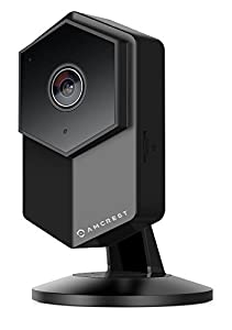 Amcrest ProHD Shield Wireless IP Security Camera, 960P 1.3 Megapixel(1280960P), Two-Way Audio, Super Wide 140° Viewing Angle, MicroSD & Cloud Recording, Digital Zoom, Night Vision, IPM-HX1