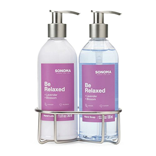 SONOMA Goods for Life™ 2-pc Hand Soap & Hand Lotion Caddy Gift Set (Be Relaxed)
