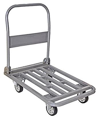 GTK Foldable Platform Trolley With Steel Body With 300Kg Capacity