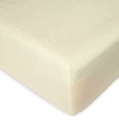 Sleep Creations 12-Inch Ultra-Luxe Memory Foam Mattress with Aerus Natural Memory Foam Comfort Layer, (Aerus Natural)