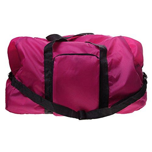MagiDeal Pieghevole Borsa Di Viaggiare Bagaglio Di Spalla Casuale Sacchetto Tote Bag accesorio Unisex