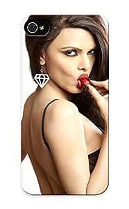 Armandcaron Rugged Skin Case Cover For Iphone 5/5s- Eco-friendly Packaging(sherlyn Chopra ) hjbrhga1544