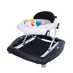 Moolo Andadores Andador para bebés, Caballo oscilante Variable ...