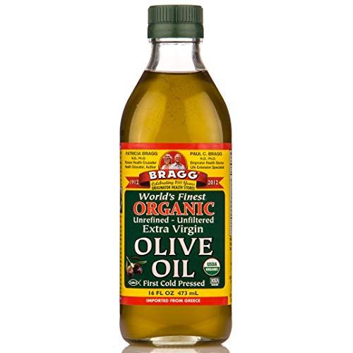 Bragg Organic Extra Virgin Olive Oil, 16 Ounce