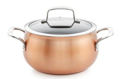 Belgique Copper Translucent 3-Qt. Soup Pot with Lid