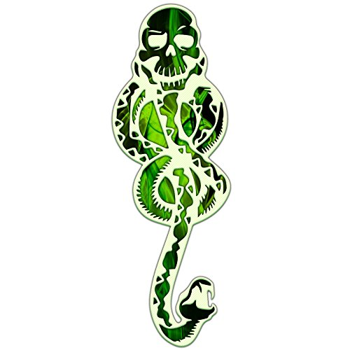 Evil Snake Symbol Slytherin Tom Riddle Sticker ()