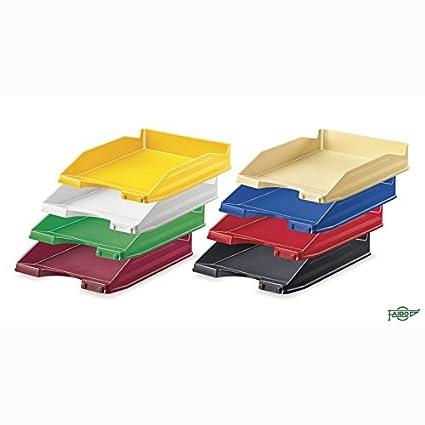 Bandeja Sobremesa PVC Opaco Negro - 10