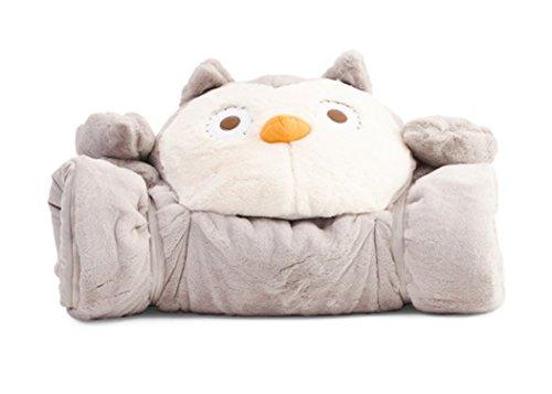 Frolics Owl Childrens Plush/Stuffed animal Sleeping Bag 29'X68