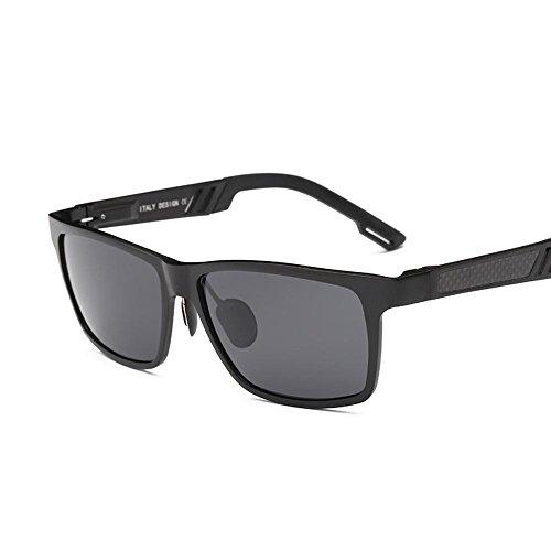 gafas magnesio polarizado de A sol tipo de conducción sol gafas gafas hombres de conducción de Aluminio color gafas de clima haixin de todo tqpZwZ