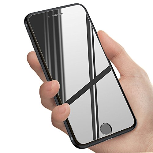 iPhone 6/6 Plus/7/7 Plus/8/8 Plus/X Screen Protector, Insten Mirror Tempered Glass Protective Film for Apple