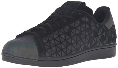 adidas Originals Men's Superstar Fashion Sneaker, Black/Black/Black, 9 M US