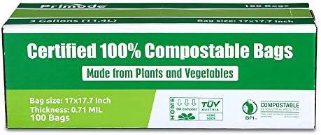 Amazon.com: Bolsas compostables de Primode | Bolsas premium ...