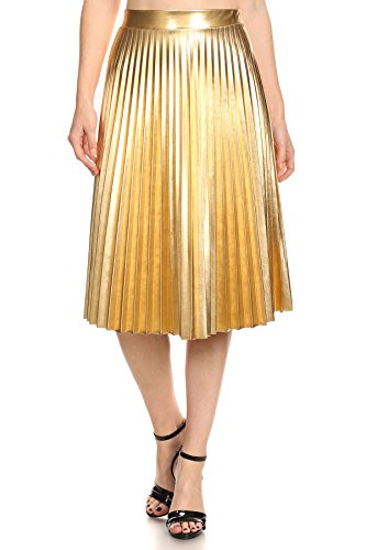 alexandra-gold-faux-leather-high-waist-pleated-accordion-midi-skirt-medium