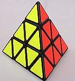 Tetrahedral Pyramid Shaped Rubik Cube