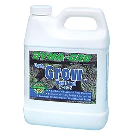 Amazoncom Dyna Gro Gro 032 Grow Liquid Plant Food 7 9 5 32 Ounce