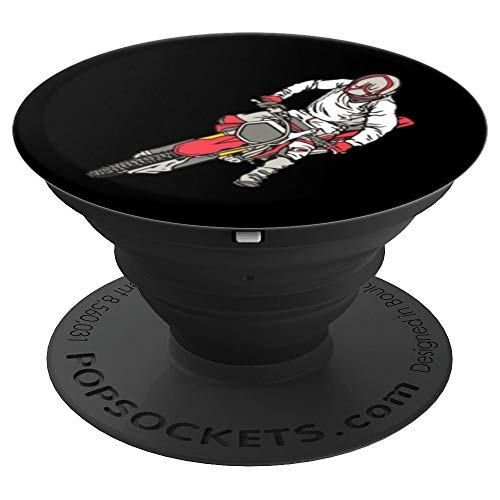 Cool Graphic Bike Dirt Bike Biker Gifts Pop Socket - PopSockets Grip and Stand for Phones and Tablets (Dirt Graphic)