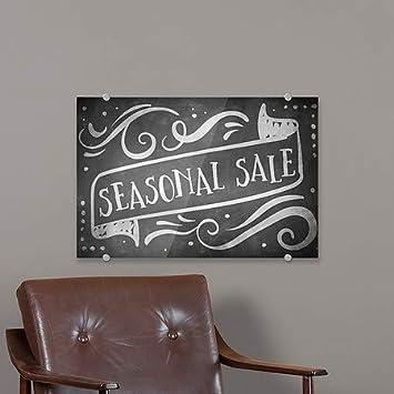 5-Pack Chalk Banner Premium Brushed Aluminum Sign 27x18 Seasonal Sale CGSignLab