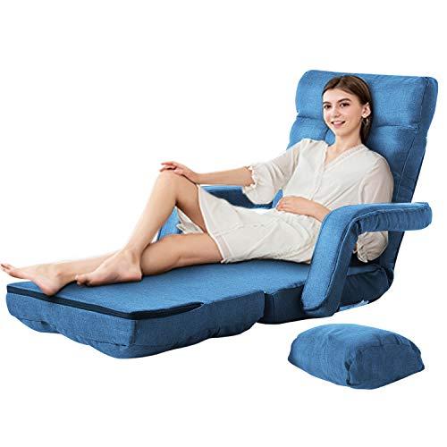 padded folding chaise lounge - 4