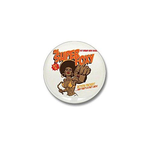CafePress Ms. Super Foxy Mini Button 1