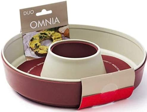 Includes 12 Custom Parchment Paper Rounds 20.00 Savings Omnia Stove Top Oven RV Camping and Home Deluxe Kit Omnia Oven Kit Baking Rack and 2 Silicone Liners