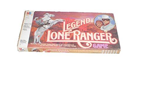 The Legend of the Lone Ranger Game - Milton Bradley 1980
