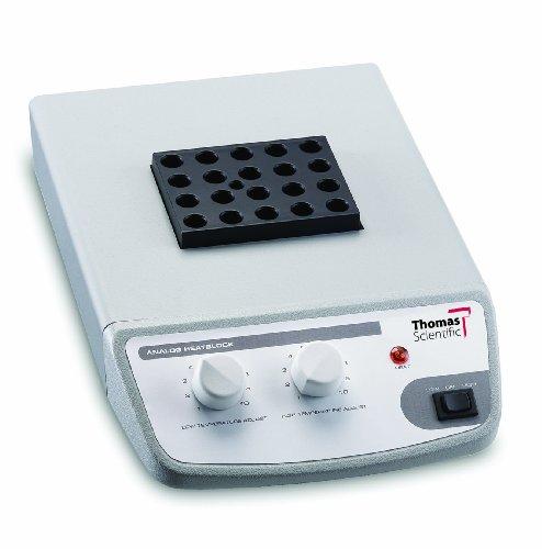 Thomas 949414 Analog 3 Dry Block Heater, 18-13/32