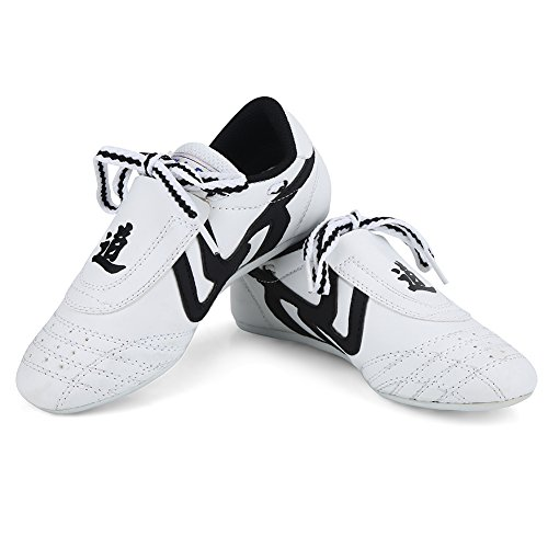 Martial Arts Taekwondo Shoes,Unisex Children Teenager Sport Boxing Karate Shoes for Taekwondo, Boxing, Kung Fu and TaiChi (35)