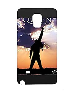 Colorful Samsung Galaxy Note 4 Fundas/Case for Girl , Samsung Galaxy Note 4 Phone Fundas/Case Queen Band Logo Solid - Galaxy Note 4 Fundas/Case Motomo