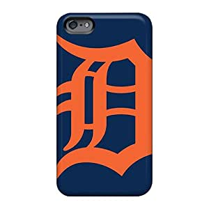 Shock Absorbent Hard Phone Cover For Apple Iphone 6 With Provide Private Custom Attractive Detroit Tigers Series WandaDicks