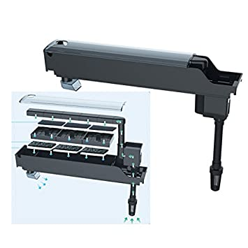Takestop® Filtro Interno Externo GD-400 7 W 500L/H Bomba Sumergible Filtro para Acuario Agua Dulce Salada: Amazon.es: Electrónica
