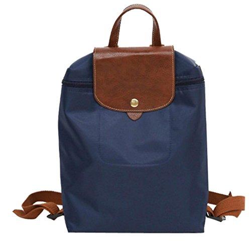 Femmes voyage bandoulière Bleu sac TM Mode à loisirs dos nylon de à de Sac à pliage en de Sac dos Dos sac de Sac à Vintage dos À de d'étudiant Coloré zqERxOwz
