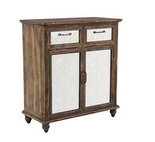 (Deco 79 42970 Rustic 2-Door Cabinet, 14