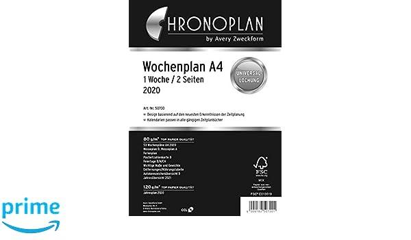Chronoplan 50700 - Recambio para agenda 2020, formato ...