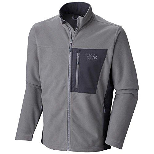 Mountain Hardwear Men's Scrambler Jacket Titanium/Shark SM ()