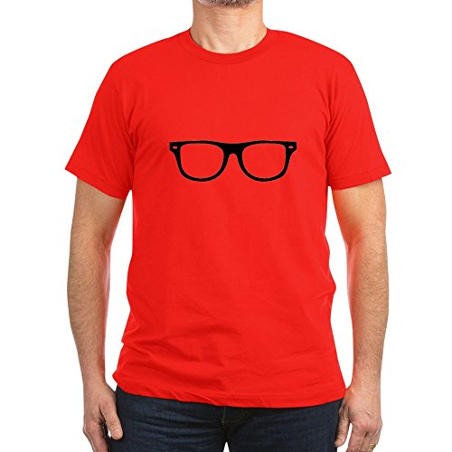 CafePress Glases.PNG - Men's Fitted T-Shirt, Stylish Printed Vintage Fit - Geek Glases