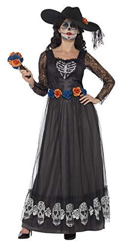 Smiffy's 44944x1 Women's Day Of The Dead Skeleton Bride Costume -
