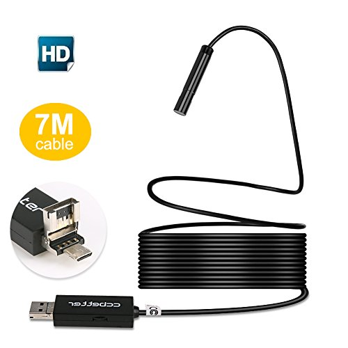 USB Endoscope 2MP (Black) - 4