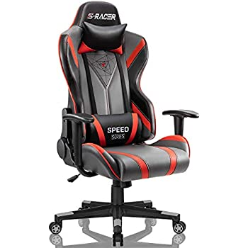 Amazon Com Gtracing Gaming Chair With Bluetooth Speakers