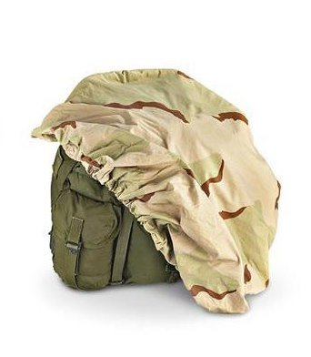 How to waterproof ALICE bag US Army Issued Backpack Wheel Cover Desert Camo