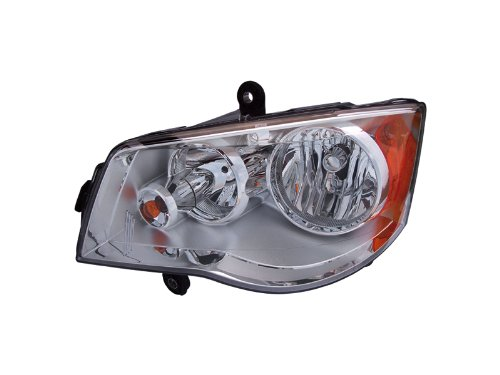 Chrysler Town & Country Headlight Oe Style Halogen Type Headlamp Left Driver ...