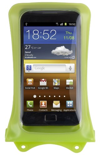 DICAPAC WP-i10 Waterproof Case for iPhone 4, 4S and 3G/3GS - Green ()