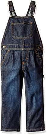 Wrangler Toddler Boys' Authentics Denim Overall, Ocean Deep, 2T