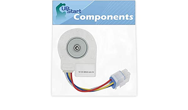 241509402 Evaporator Fan Motor Replacement for Frigidaire FGHB2866PF4 Refrigerator Compatible with 241509402 Evaporator Motor UpStart Components Brand