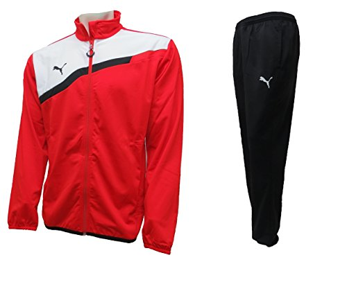 Puma Mens Tracksuit Soccer Training Suit BTS Poly Jog Suit Jacket/Pants Set New (L)