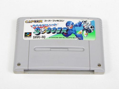 Rockman's Soccer (aka Mega Man Soccer) Super Famicom (Super NES Japanese Import)