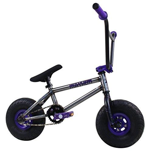 Mayhem Fat Tire Riot Raw Crank, Mini BMX Newest Model Trick Bike