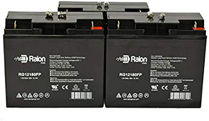 10 Pack 12V 12AH F2 Replacement Battery for APC Back-UPS ES 750 BB BE750BB