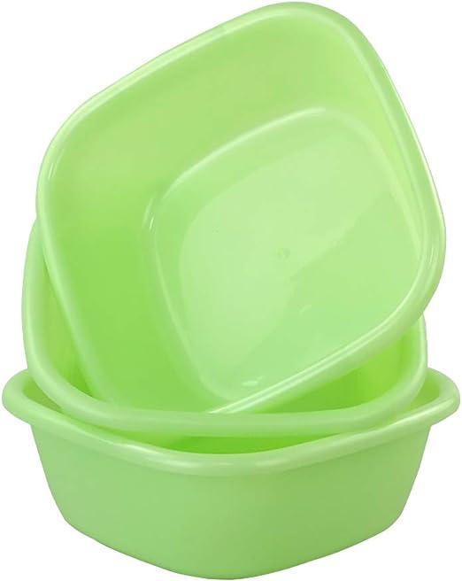 Verde Paquete De 3 Barre/ñO Para Lavar Annkky Peque/ñOs Barre/ñO Cuadrado El Plastico