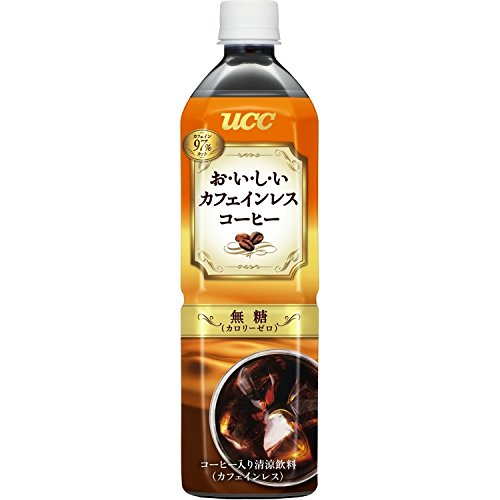 UCC delicious decaffeinated coffee unsweetened 900mlX12 this by - Have you-to-have decaffeinated